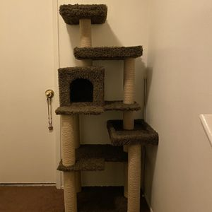 Meow Tree (5ft 6in) Used (great Condition) for Sale in Duarte, CA