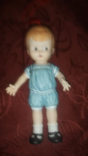 Very Old Porcelain Doll Ornament for Sale in Gresham, OR