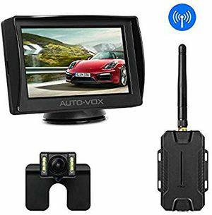 AUTO-VOX M1W Wireless Backup Camera Kit, Super Night Vision (6 LEDs) HD Rear View Camera for Truck, Sedan for Sale in Stuart, FL
