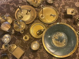 Brass Pieces 37 Total for Sale in Aliquippa,  PA