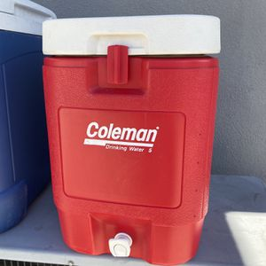Coleman Drinking Red Cooler for Sale in Glendora, CA