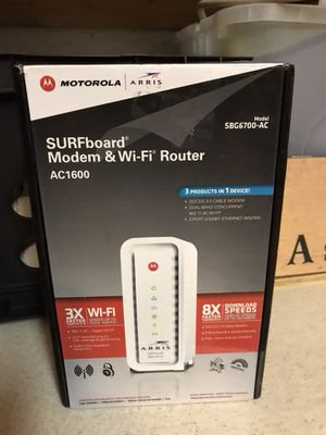 Modem/wireless router for Sale in Port St. Lucie, FL