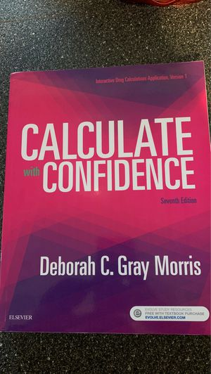 Calculate with confidence 7th Ed for Sale in Sunrise, FL
