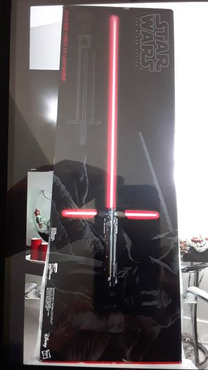New Star Wars Black Series Kylo Ren Force FX Lightsaber for Sale in Hallandale Beach, FL