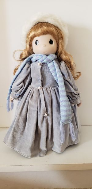 "Precious moments Four Seasons Limited Edition Porcelain Bisque Doll ""Winter"" for Sale in HUNTINGTN BCH, CA"