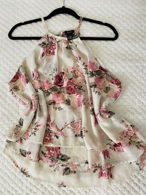 Rue 21 Floral Ivory blouse for Sale in San Diego, CA