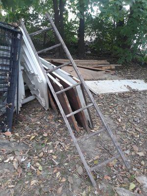 Antique wood ladder for Sale in Evansville, IN