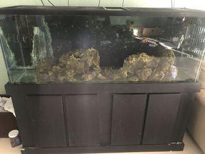 100 gallon aquarium and stand for Sale in Del Sur, CA