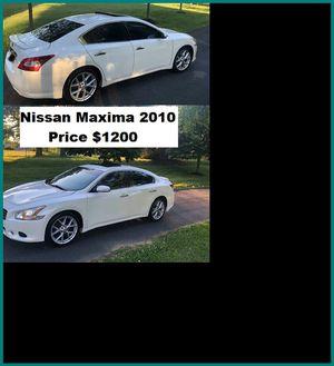ֆ12OO_2010 Nissan Maxima S for Sale in Hawthorne, CA