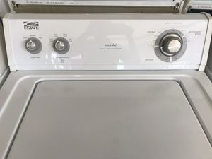 Used, washer, heavy duty, super capacity , great condition, work good , great deal for Sale in San Jose, CA