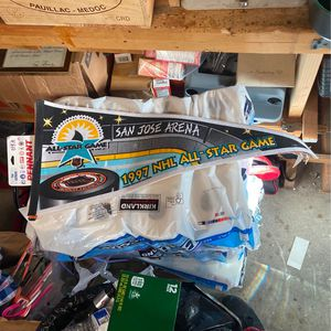 97' SAN JOSE ARENA NHL ALL-STAR GAME FLAG for Sale in Gilroy, CA