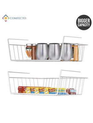 2pk under shelf basket stainless steel wire rack for Sale in Phoenix, AZ