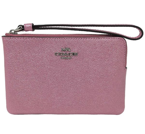 Coach Wristlet clutch wrist wallet pink brand new authentic