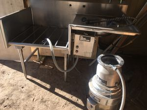 Universal stainless commercial sink for Sale in Benton City, WA