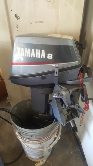 Yamaha boat motor 8hp for Sale in Los Angeles, CA