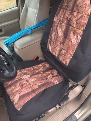 Camo seat covers for Sale in Edmonds, WA