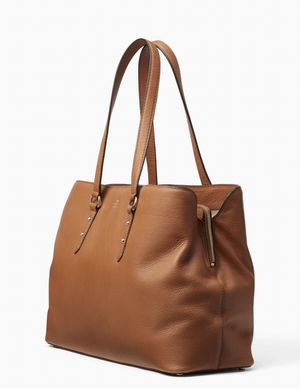 Kate Spade larchmont avenue large evangelie purse tan / brown for Sale in Carson, CA