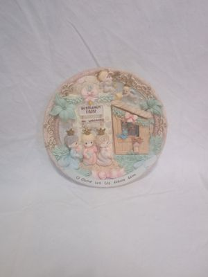 Vintage Precious Moments Christmas Plate for Sale in Lawrenceville, GA