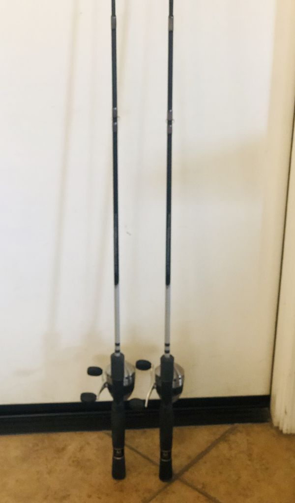 Two Zebco fishing rod and reels. Very gently used! Excellent condition. $15 each or $25 for both.