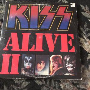 Kiss alive two album for Sale in Clovis, CA