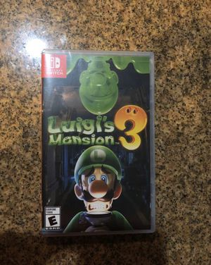 Luigi's Mansion 3 for Sale in Rancho Cucamonga, CA