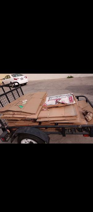 Free cardboard for Sale in El Monte, CA