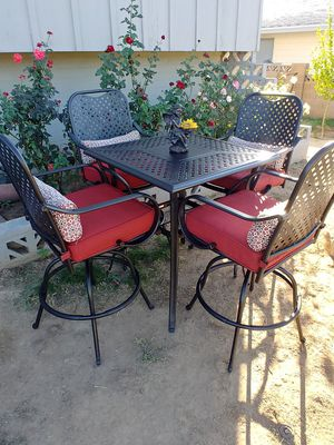🌹Hampton Bay High Top patio set🌹 for Sale in Phoenix, AZ