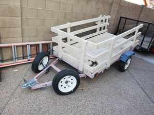 trailer 4x8 with title for Sale in Sun City, AZ