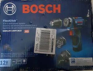 BOSCH 5 IN 1 DRILL/DRIVER SYSTEM for Sale in Glen Burnie, MD