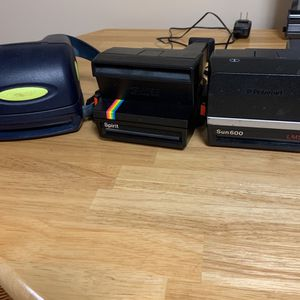 Polaroid cameras, three for Sale in Watertown, CT