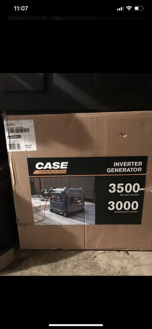 Case generator bran new 3500 never been taken out of the original box for Sale in OR, US