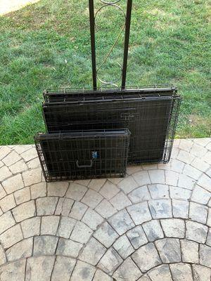 2 large Dog crates for Sale in Fairfax, VA