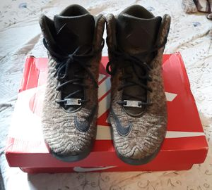 Nike Lebron XI NSW Lifestyle Mens Leopard Mid Top Sneakers 616766-301 Shoes Size: 10 for Sale in Accokeek, MD
