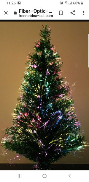 Beautiful fiber optic tree for Sale in Elmira, NY
