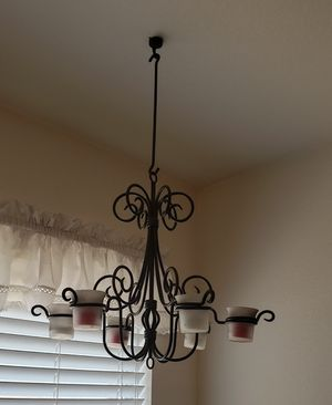 Candle holders, wall sconce/shelf, chandelier, Partylite for Sale in Saginaw, TX