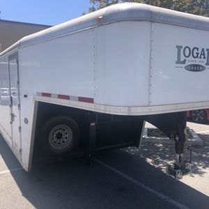 2013 Logan Cargo trailer 32' + 8' Over Can for Sale in Santa Ana, CA