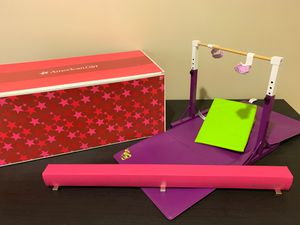 American girl doll Mckenna beam and bar set for Sale in Irwin, PA