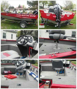 2012 tracker boat and trailer for Sale in Dorchester, NE