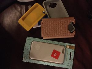 10 cases for phones from Samsung galaxy's, to iPhones 5 and 6 even iPad for Sale in Arvada, CO