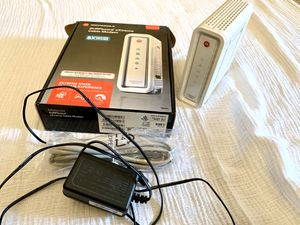 Motorola Arris SURFboard SB6141 Cable Modem 343 Mbps DOCSIS 3.0 for Sale in Mission Viejo, CA
