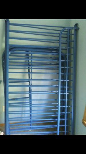 Bunk bed, twin..metal frame for Sale in Granite Falls, WA