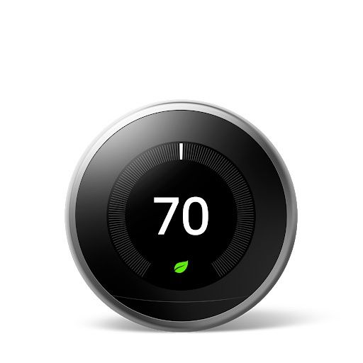 Google Nest Thermostat 3rd Gen Stainless Steel 20 AVAILABLE