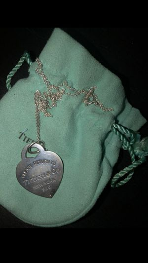 FS: Authentic Tiffany&Co Heart Tag Neckalace for Sale in Long Beach, CA