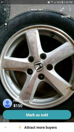 16 inch factory honda wheels for Sale in Childersburg, AL