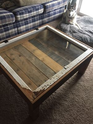 *UNIQUE* Window Pane Coffee Table for Sale in Columbus, OH