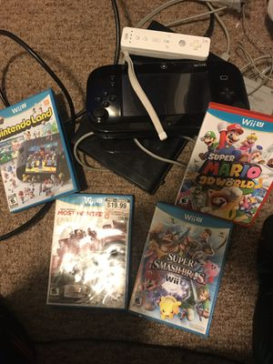 Nintendo Wii u system and games for Sale in Landover, MD