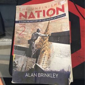 The Unfinished Nation Volume 2 -7th Edition for Sale in Ontario, CA