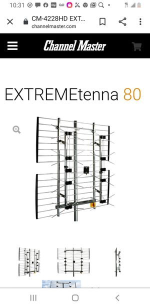 Channel Master extreme 80 outdoor antenna for Sale in Granite City, IL