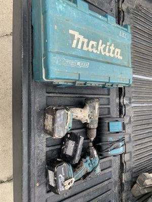 Makita imapct and drill set brushless 3.0 for Sale in Fresno, CA