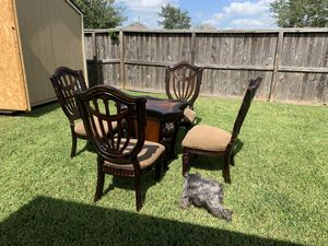 Kitchen Circle Table - Glass Included for Sale in Houston, TX